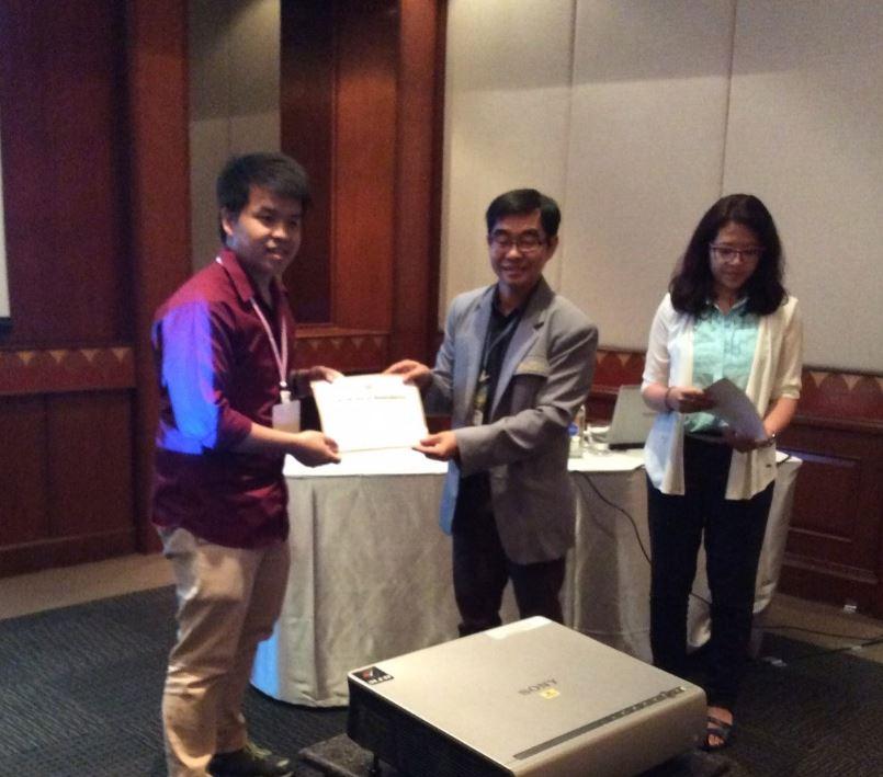 นศ. มทส.ได้รับรางวัล Best Oral Presentation
