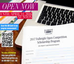 2017 Fulbright Open Competition Scholarship Program